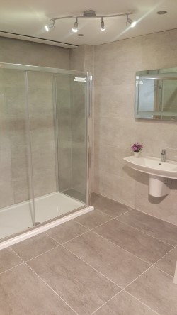 Bathrooms supplied and fitted by North West Tiles & Timber, Co. Leitrim, Ireland