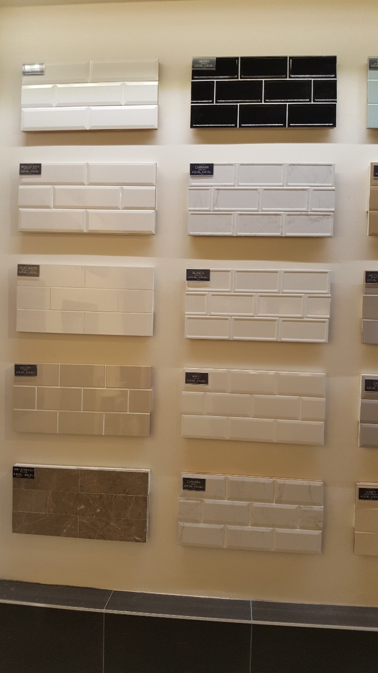 Porcelain wall tile range - polished & matt finish available from North West Tiles & Timber, Leitrim, Ireland